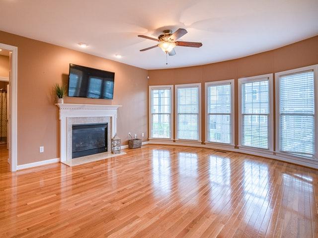 properly cleaned hardwood floors