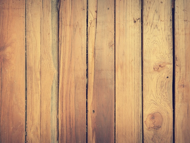 old wood floors with gapping
